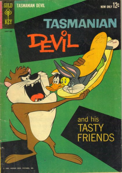 TASMANIAN DEVIL COMIC BOOK