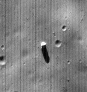 Monolith on Mars' Moon...
