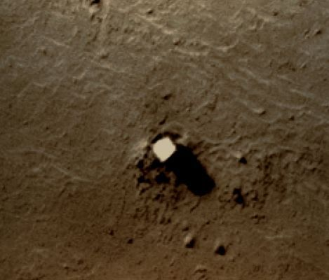 New found anomalies on Mars' moon Phobos and the monolith ...