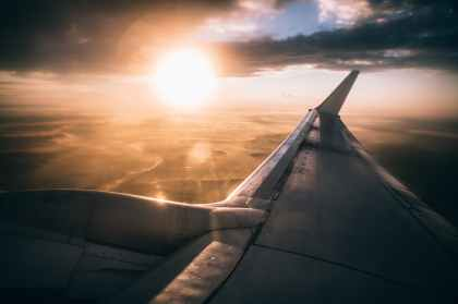 aircraft aircraft wing airplane atmosphere