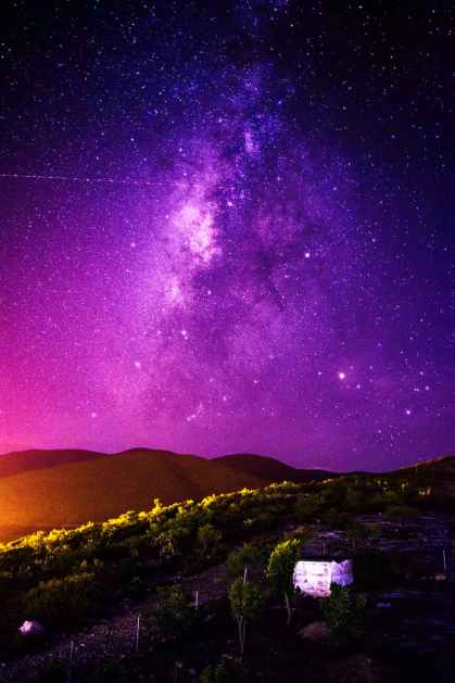 amazing astronomy background bright